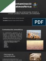 Principales Contaminantes Atmosfericos