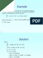 Example Euler Method