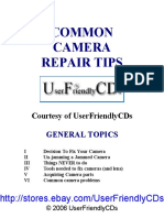 Reparing Camera Repair Tips