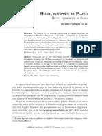 Espinoza lolas. Hegel , interprete de Platón.pdf