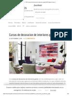 ▷ TOP Cursos de decoracion de interiores gratis 2018- Mejora tu casa ;)