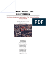 Student modeling competititon