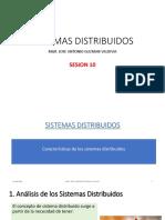 SESION 10 - SISTEMAS DISTRIBUIDOS - CARACTERISTICAS.pdf