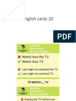 English Cards 20