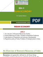 #Indian Economy_Unit II