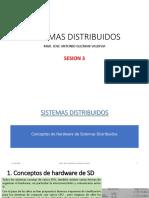 Sesion 3 - Sistemas Distribuidos - Hardware