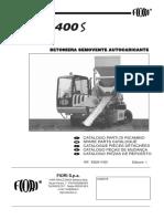 Catalogo de Piezas Automezclador Fiori DB400S