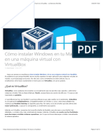 Cómo instalar Windows en tu Mac en una máquina virtual con VirtualBox - La Manzana Mordida