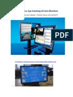 Dream Screens Eye-Catching 24-Inch Monitors