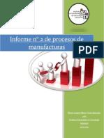 Procesos de manufacturas