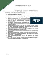 MEP Site Inspection Report