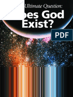 Does God Exist - A Beautifully Illustrated Collection of Scientific Information-Excellent (God, J