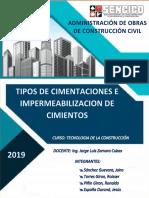 TIPOS DE CIMENTACIONES E IMPERMEABILIZACION DE CIMIENTOS.docx