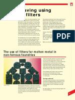 228-05 Foam filters Energy Savings