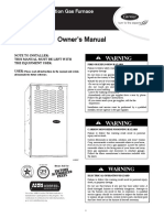 Carrier Induced Combustion Gas Furnace