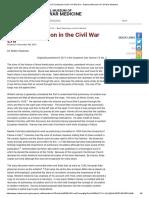 Slawson -2016- Blood Transfusion in the Civil War Era - National Museum of Civil War Medicine