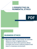 Tcs Perspective on Environmental Ethics