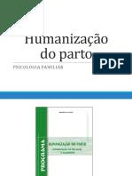3a Familiar Humanização Do Parto