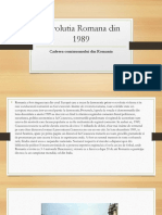 Revolutia Romana Din 1989