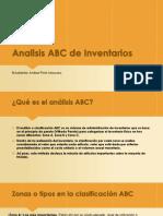 Analisis ABC de Inventarios