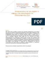 Jornalismo Interpretativo na Era Digital