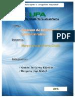 Sistema y Ciencias de Administracion