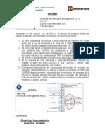 Apertura Interruptor Principal 4.16 Kv ER-021