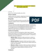 Definiciones Operativas- Glosario de Terminos (1)