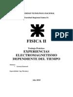 Experiencias Electromagnetismo Dependiente Del Tiempo Tp 9