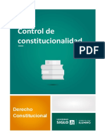 control de constitucionalidad D. constitucional