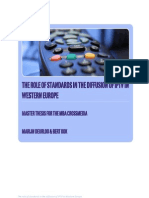 The Role of Standards in the Diffusion of IPTV in Western Europe