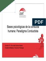 Paradigma Conductista-escuelas 2014