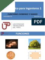 PPT Semana 01 Ses 01 Funciones Dom y Ran