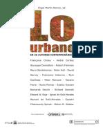 1 El Reino de Lo Urbano y La Muerte de La Ciudad