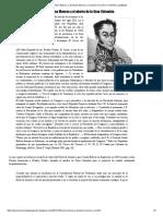 Bolívar, La Doctrina Monroe y El Aborto de La Gran Colombia _ Μetáβasis