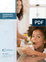 2014 EWG Cereals Report