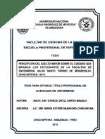 PERCEPCIÓN DEL ADULTO MAYOR SOBRE EL CUIDADO QUE BRINDA LOS ESTUDIANTES DE LA FACULTA DE ENFERMERIA.pdf