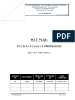 PPE MANAGEMENT PROCEDURE