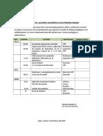 Calendario Unidad N°1-2019