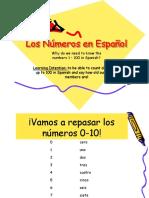Numeros en Espanol Ppt