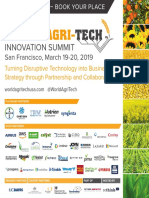 Delegate Brochure World Agri Tech San Francisco 2019