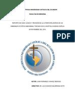 Caso Clinico Embarazo Ectopico (1)