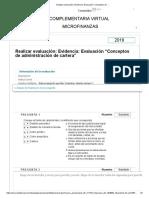evaluación_ Evidencia_ Evaluación