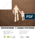 UNIVERSIDAD Y CIUDAD PEATONAL