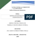 Sistema de Información Administrativa