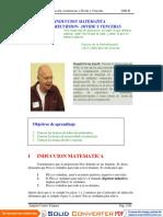 Inducción, recurrencias y Divide y Vencerás.pdf