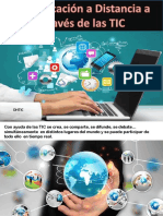 La Educación a Distancia a Través de Las TIC
