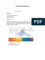 Bacteria Growth Analysis by Spectrophotometer