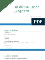 clase 2 T. evaluación cognitiva