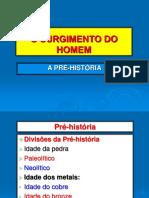 O SURGIMENTO DO HOMEM.ppt